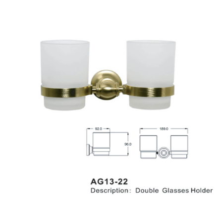 Remac Double Glass Holder AG13-10