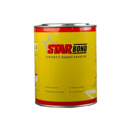 Star Synthetic Rubber Adhesive 1L
