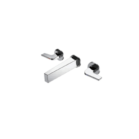 Bravat BD 3-hole Basin Mixer Sharp (P-69184C-ENG)
