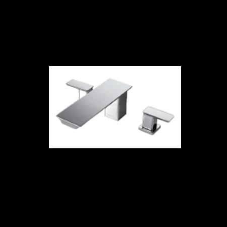 Bravat BD 3-hole Bath & Shower Mixer Phillis (F-556101C-1)