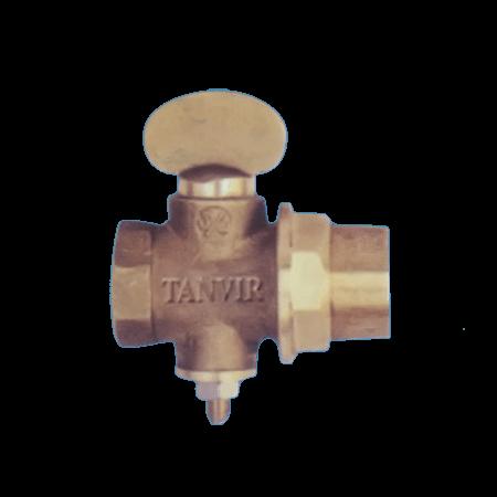 Tanvir Metal 1″/2 Gas Valve