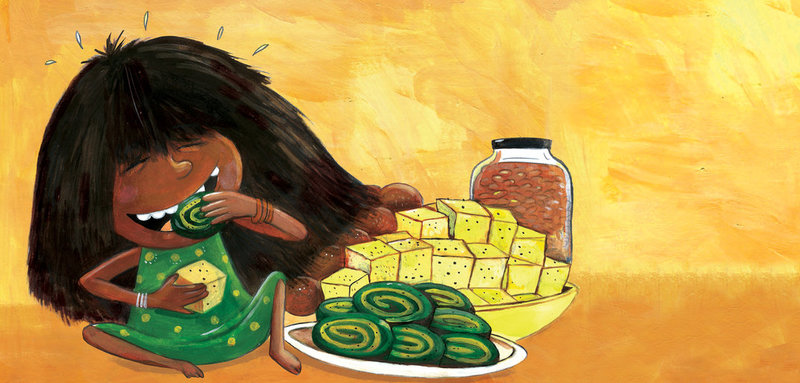 Image by Priya Kuriyan from 'What is Neema Eating Today?' by Bijal Vachharajani.