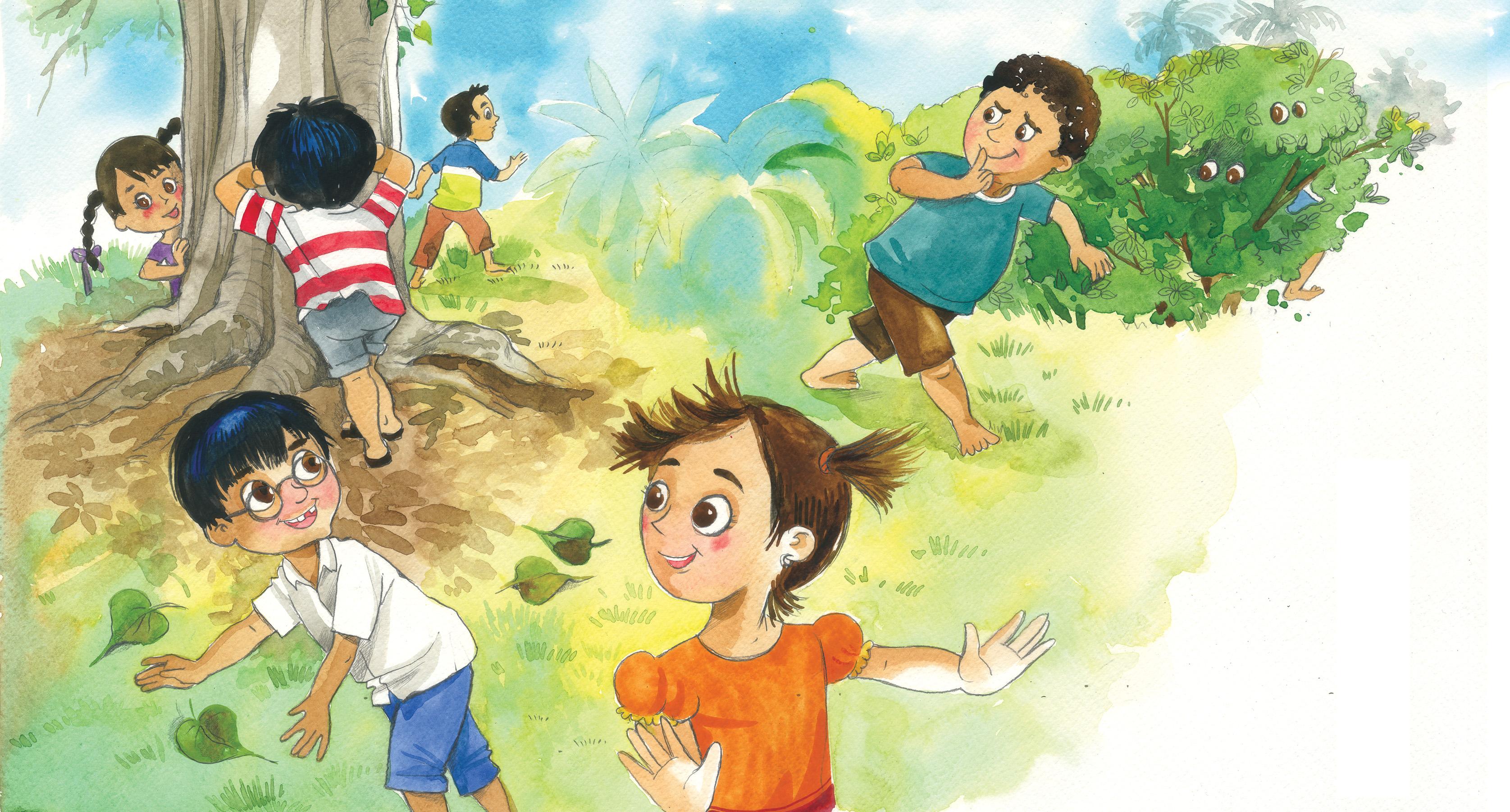 Hide Seek Kids: StoryWeaver