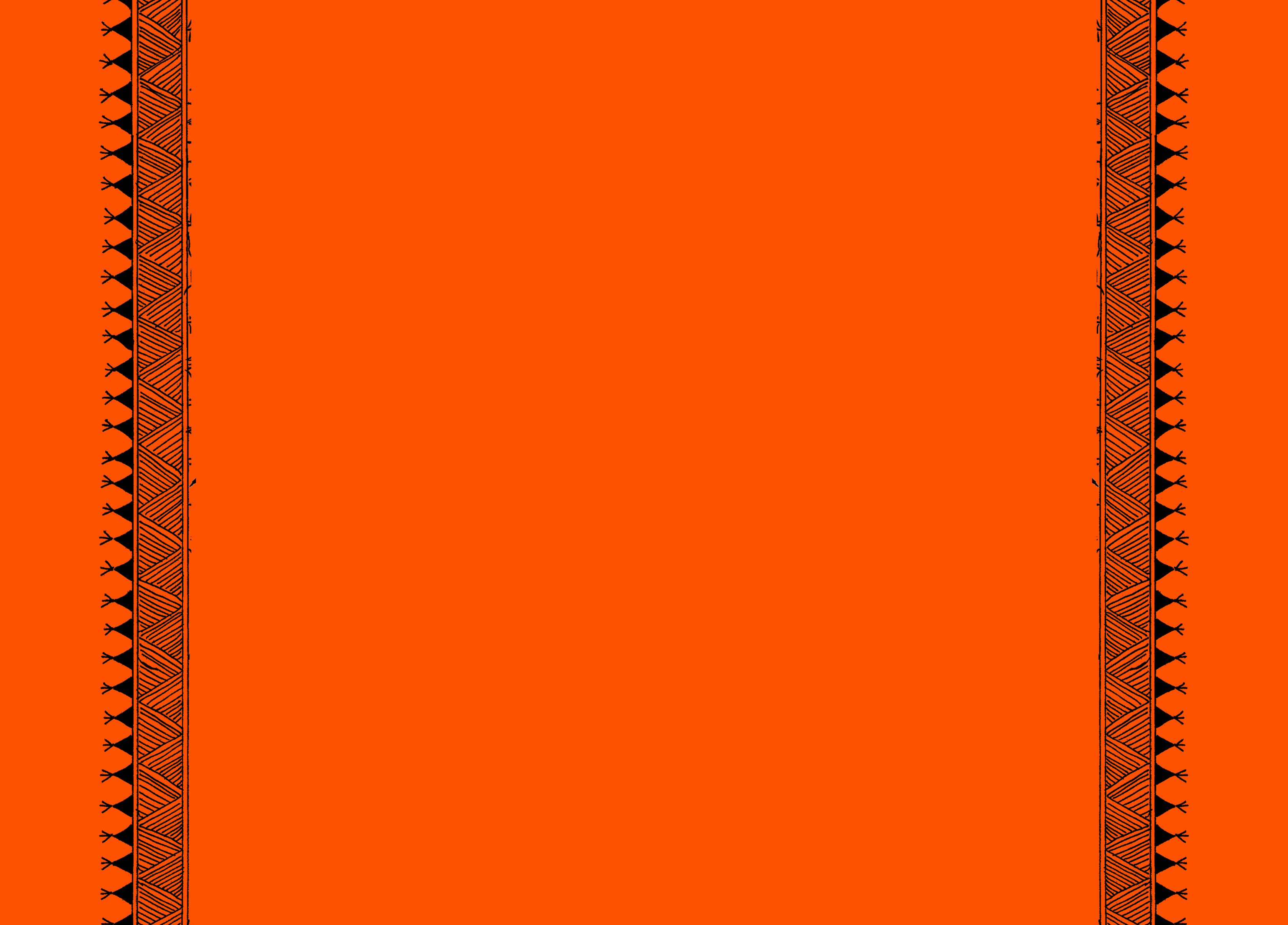 fed734421ffa8 Folk tribal art with orange background and margins - StoryWeaver