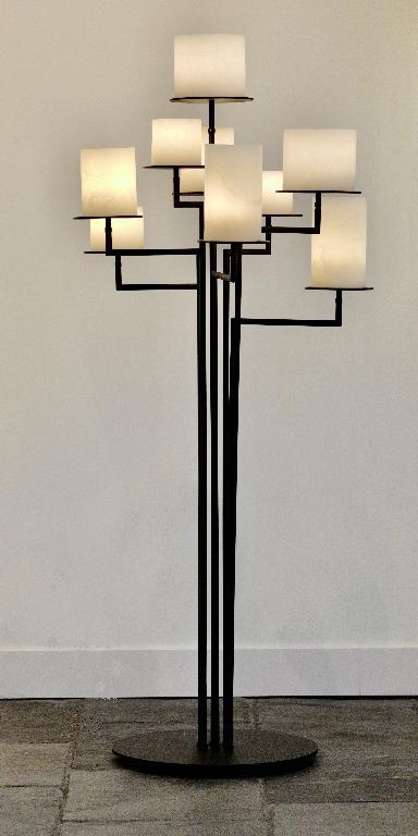 Stout Verlichting Collectie Sfeerfoto Vloerlamp Castle Fusion 9L