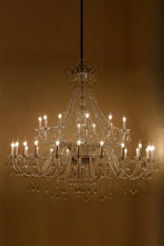 Stout Verlichting Collectie Sfeerfoto Kristal kroonluchter 36 lichts