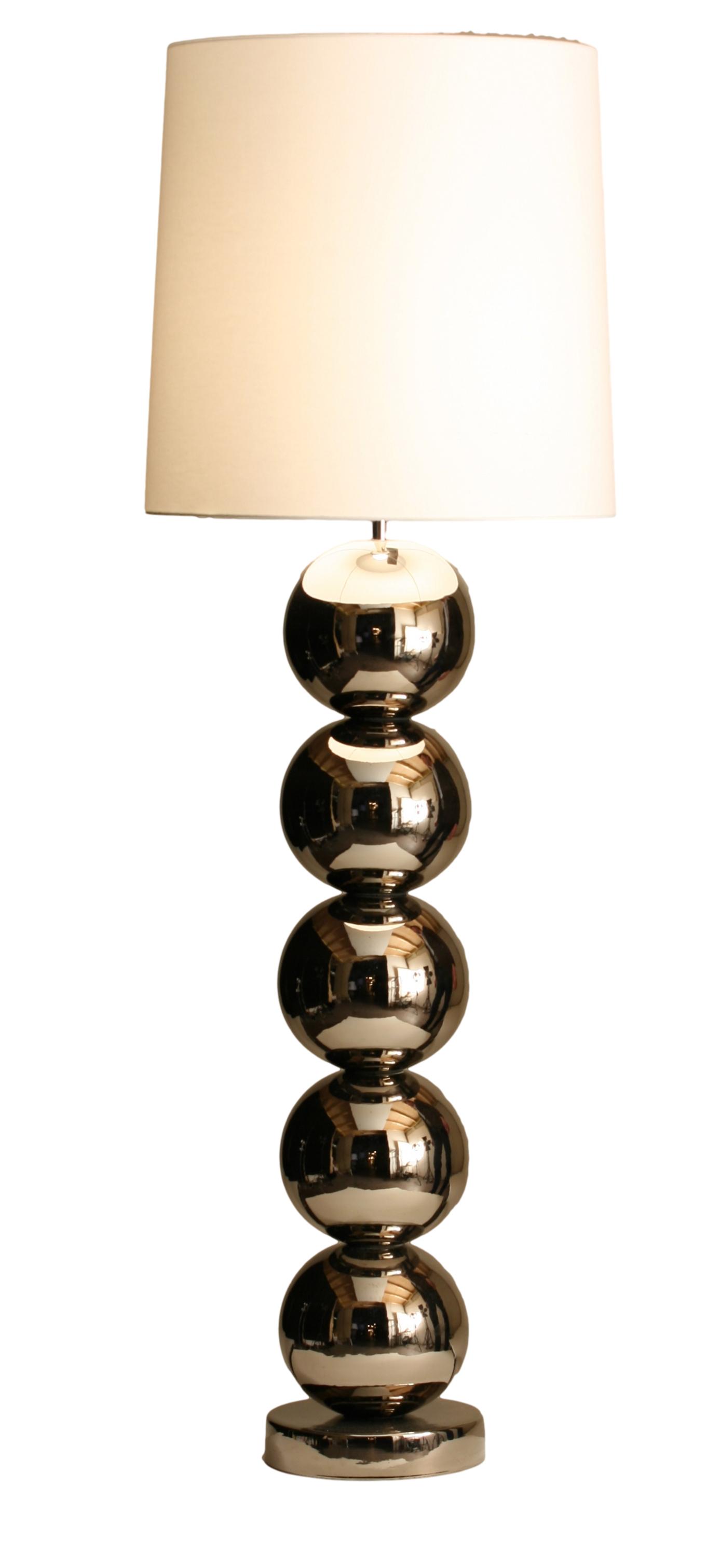 Stout Verlichting Collectie Sfeerfoto Bollen vloerlamp Milano bol Ø 25cm