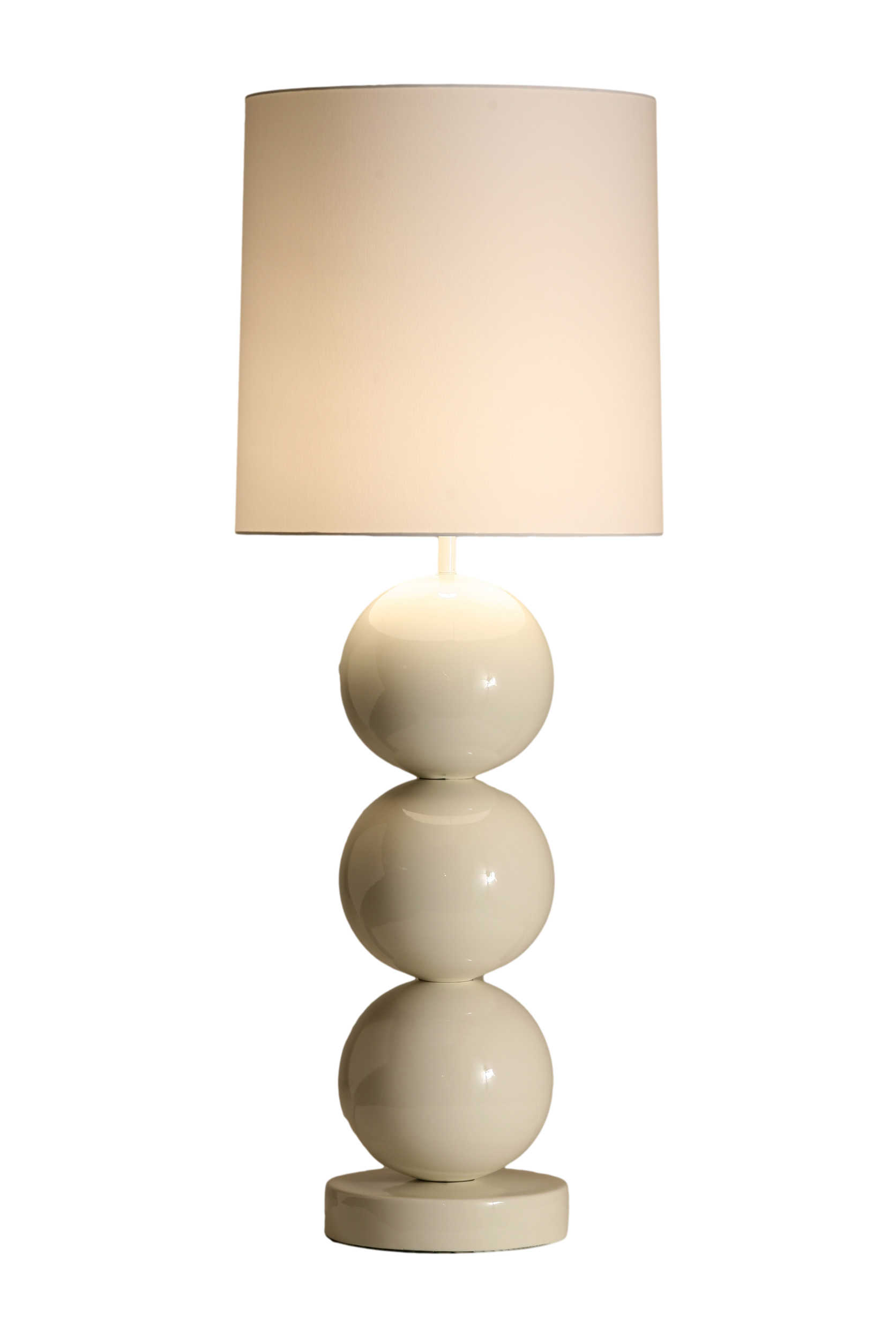 Stout Verlichting Collectie Sfeerfoto Tafel lamp met 3 x grote bol Ø 25