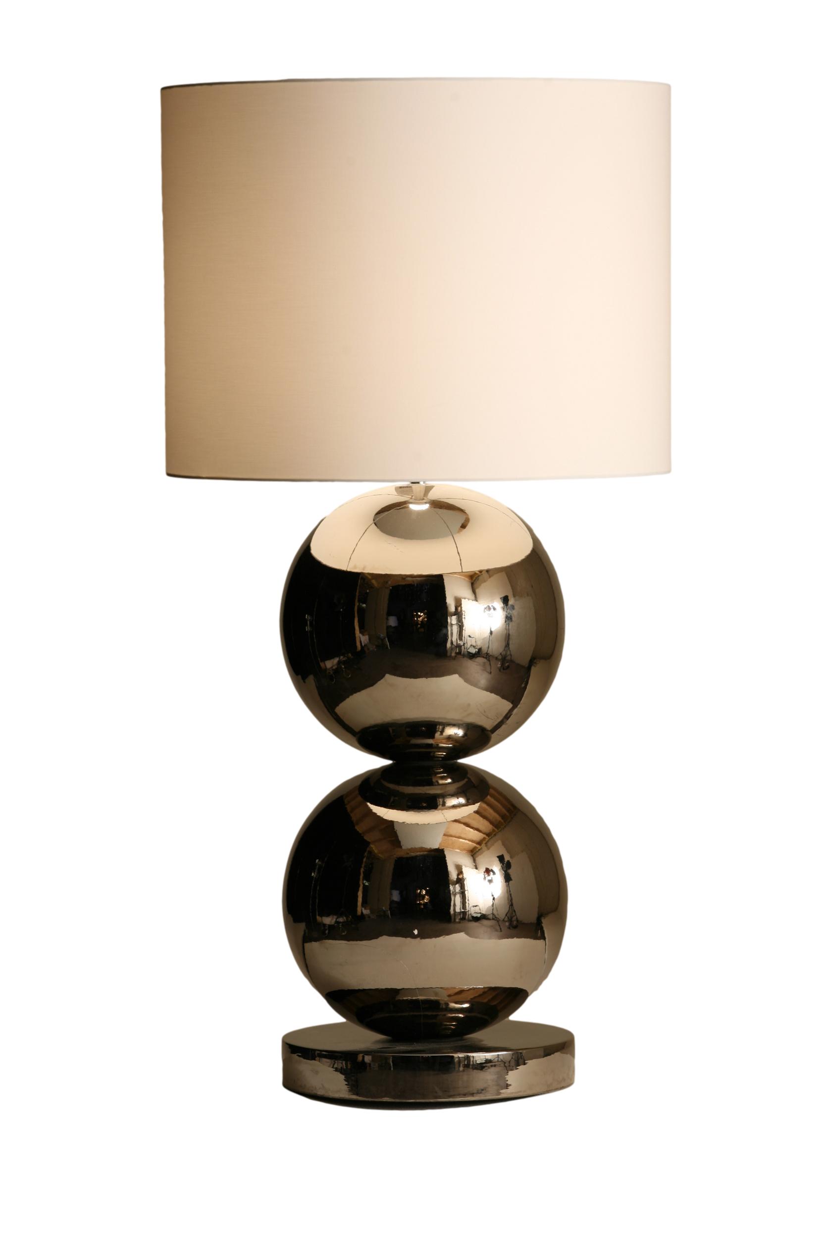 Stout Verlichting Collectie Sfeerfoto Tafellamp 2x XL bol Ø 35 cm
