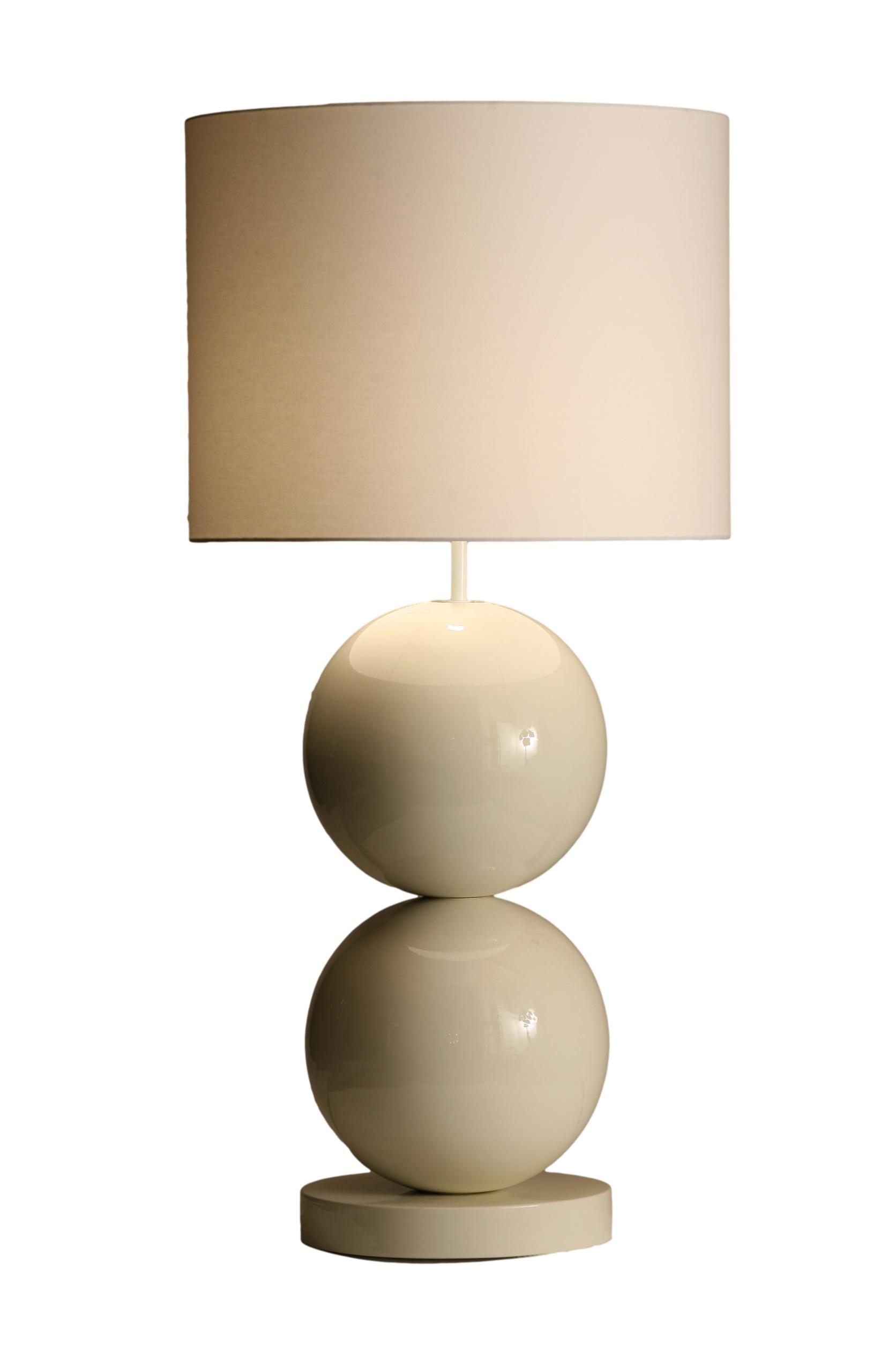Stout Verlichting Collectie Sfeerfoto Tafellamp 2x XL bol op voet
