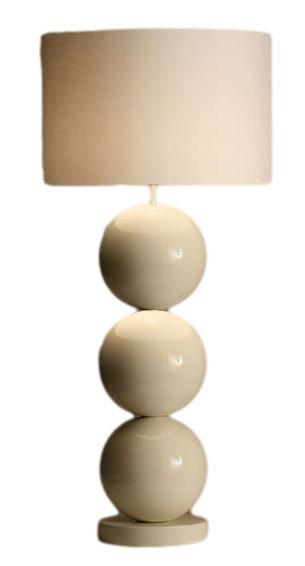 Stout Verlichting Collectie Sfeerfoto Vloerlamp 3x XL bol op voet Ø 35 c