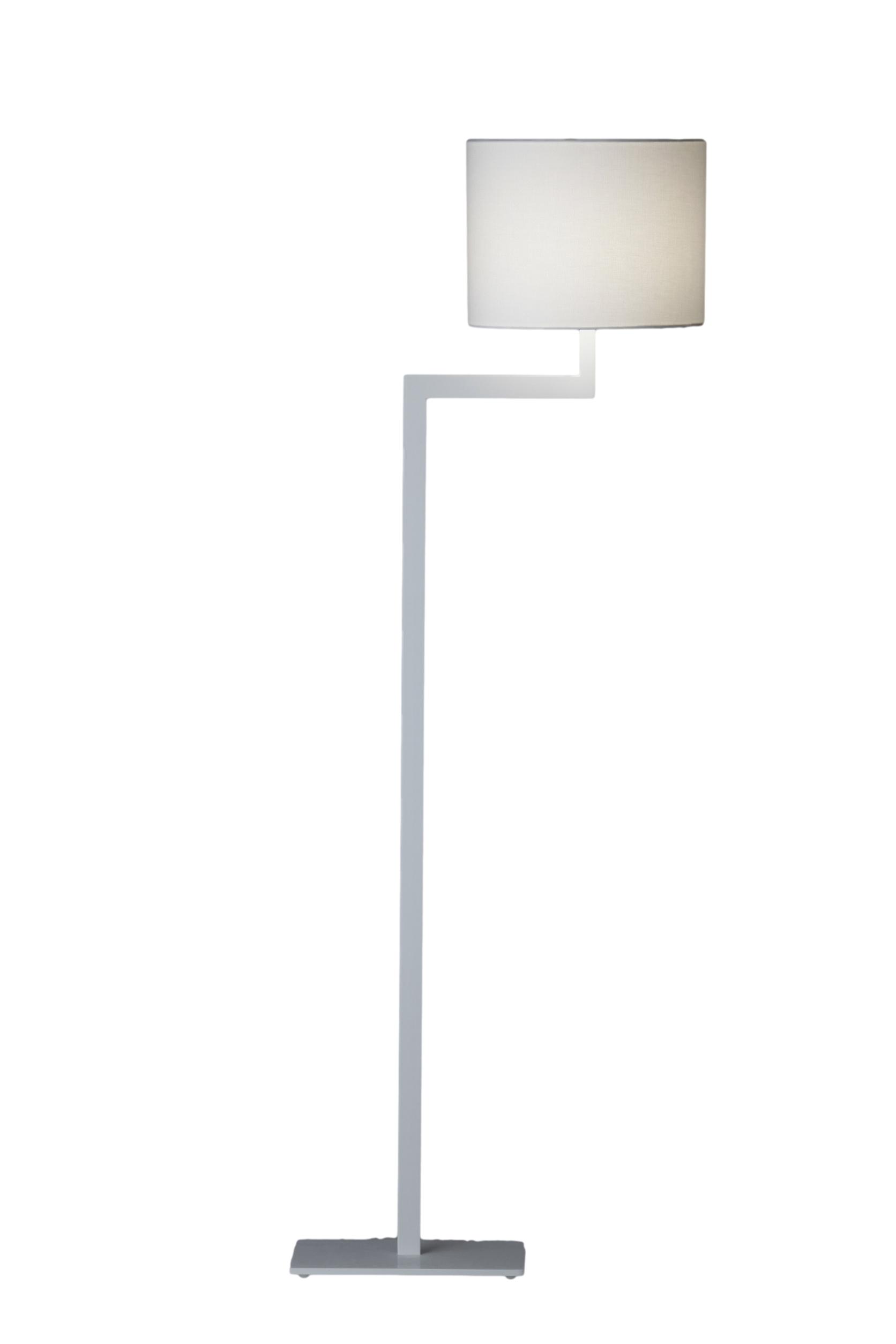Stout Verlichting Collectie Sfeerfoto Vloerlamp Strak Lafayette