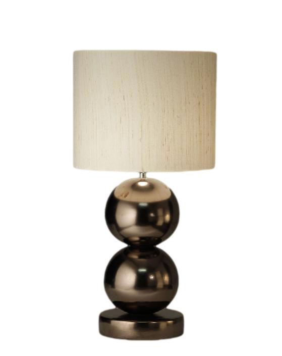 Stout Verlichting Collectie Sfeerfoto Tafellamp met 2x bol Ø 25 cm