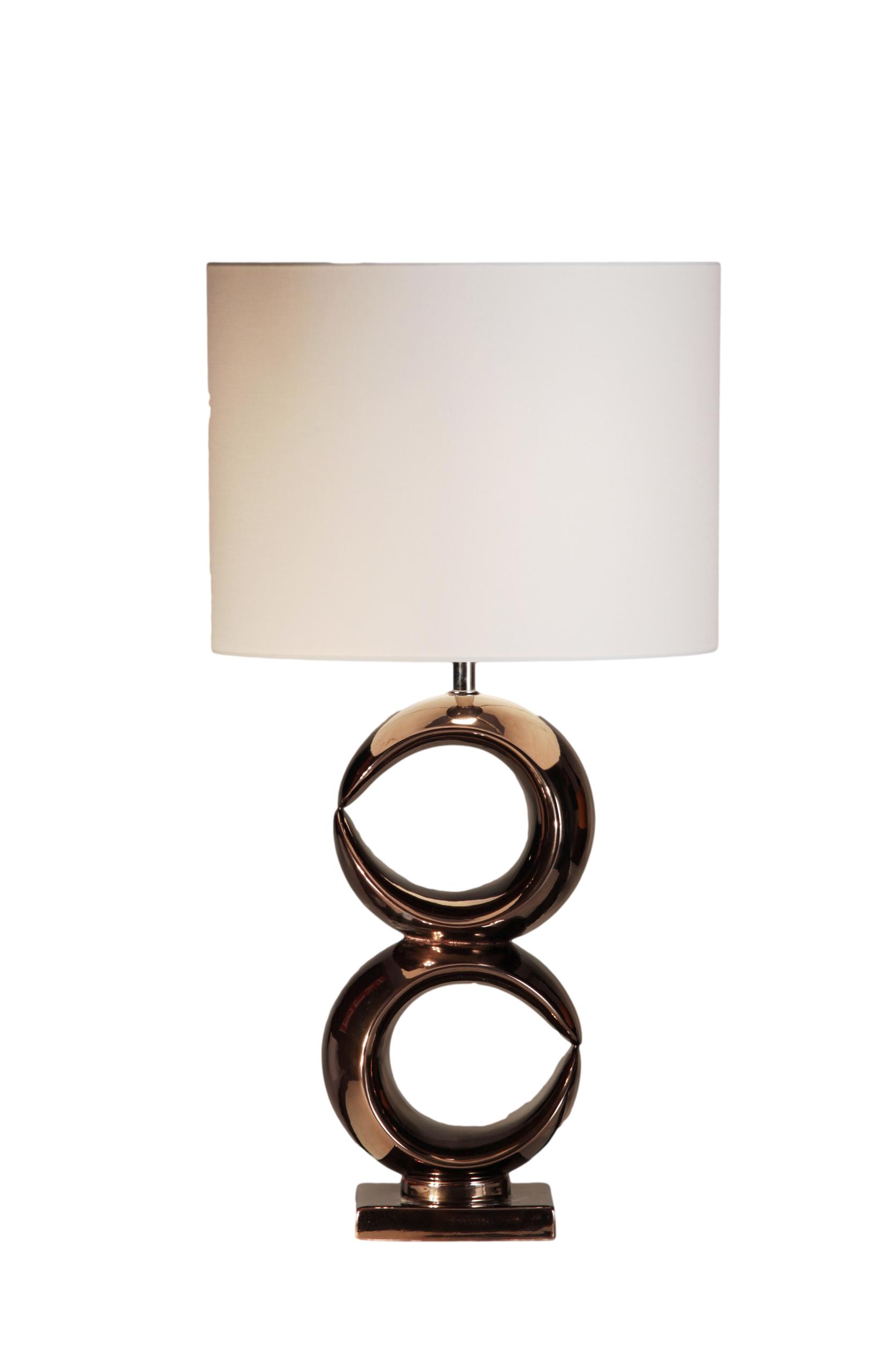 Stout Verlichting Collectie Sfeerfoto Tafellamp dubbel H49,5 cm