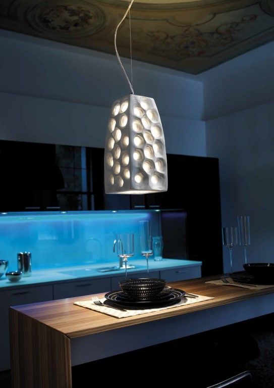 Stout Verlichting Collectie Sfeerfoto Hanglamp 1L 17x17x36 cm