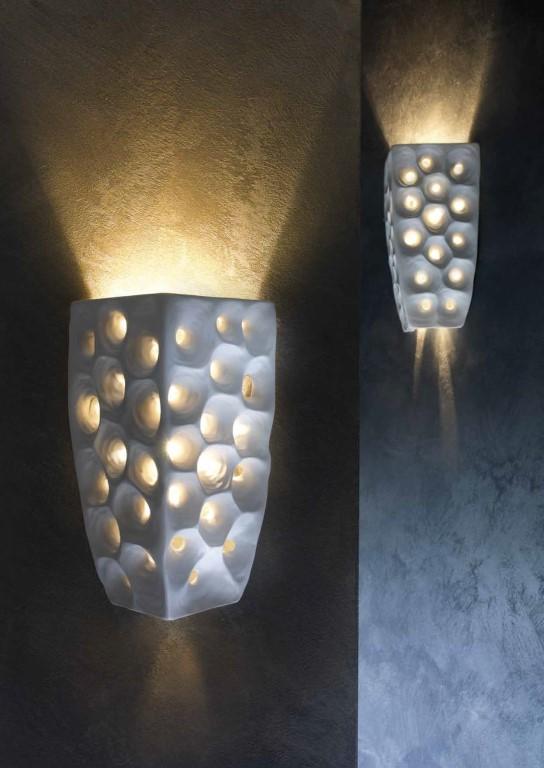 Stout Verlichting Collectie Sfeerfoto Wandlamp 1L 23x36 cm