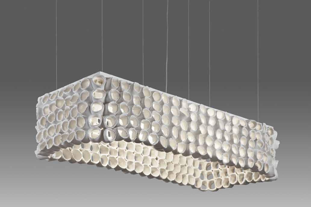 Stout Verlichting Collectie Sfeerfoto Hanglamp 2L, 100x40x25 cm