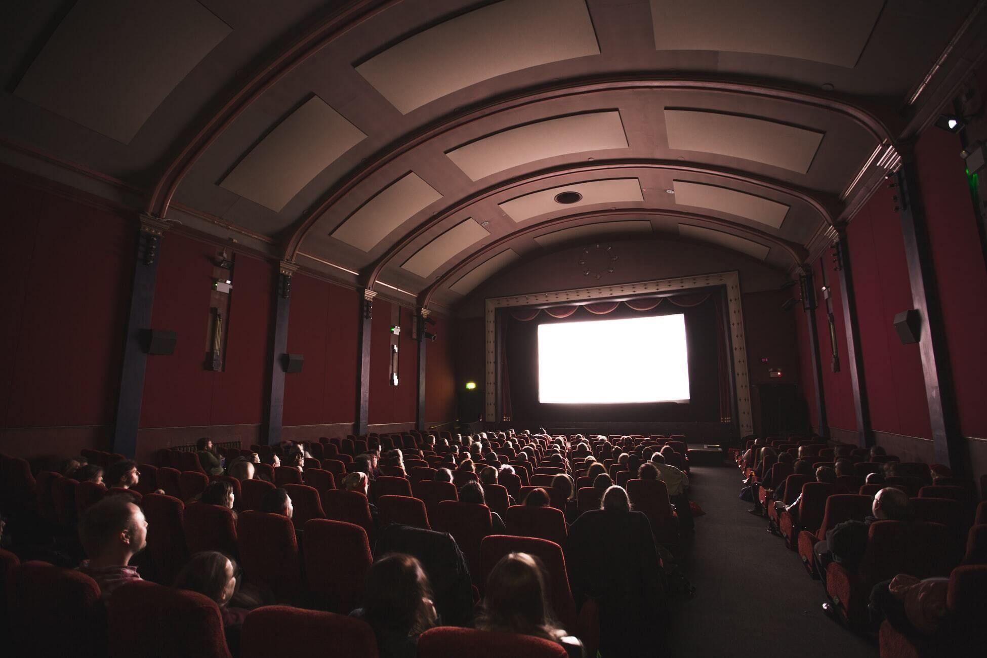 Photo d'un cinéma