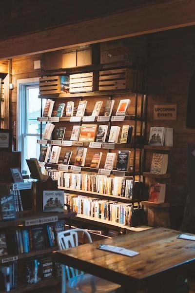 Photo d'une librairie