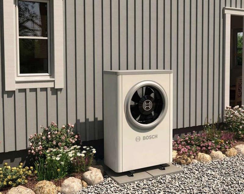 Tepelné čerpadlo vzduch–voda ve vašem designu