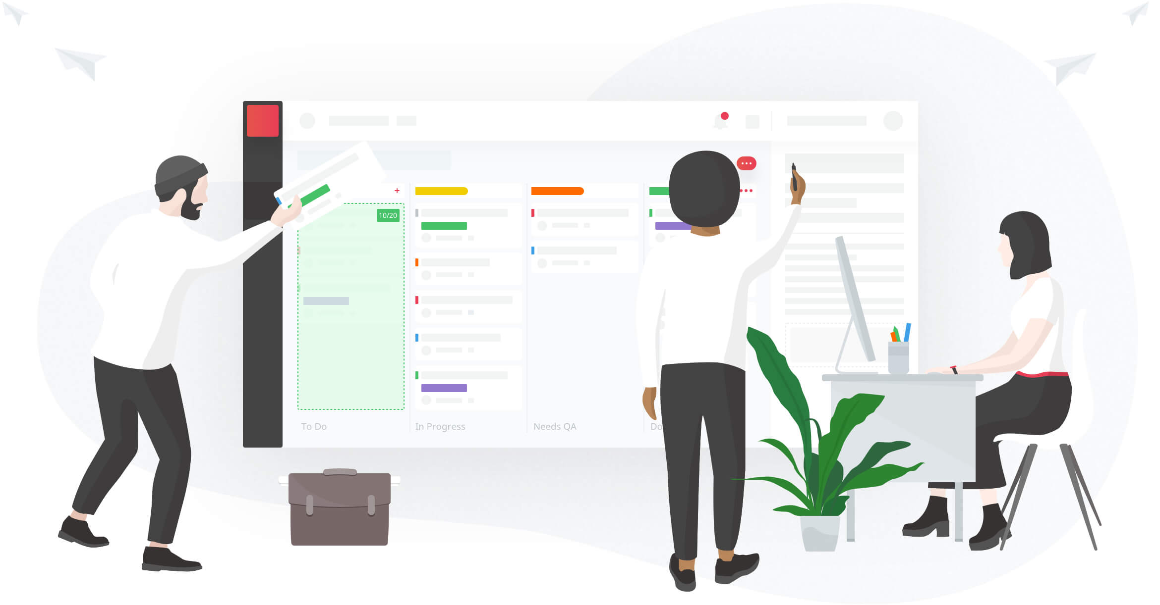 The ultimate agile management, product development and issue-tracking tool