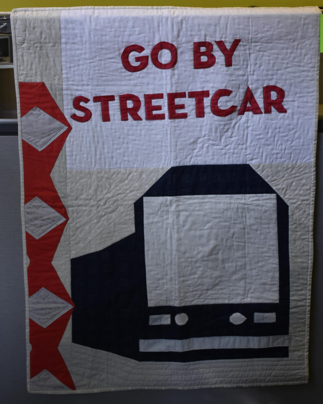 13 Go By Streetcar Quilt Linda Dyer