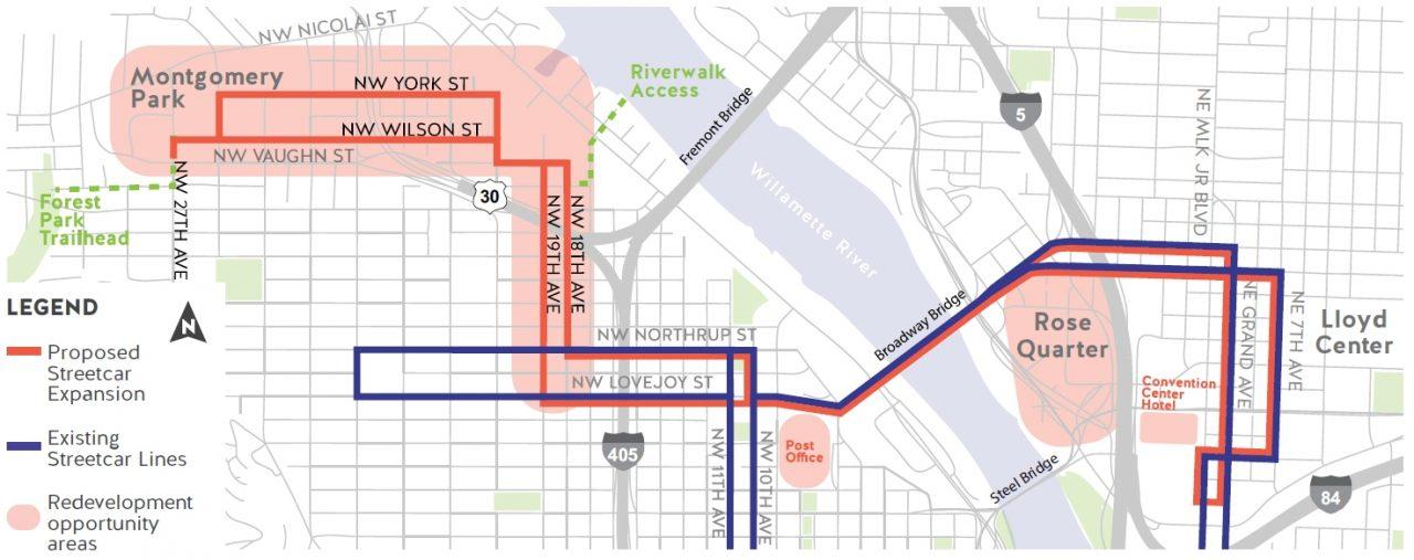 Northwest Portland Streetcar Expansion - Portland Streetcar