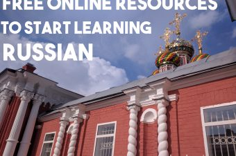 Free online resources to start learning Russian