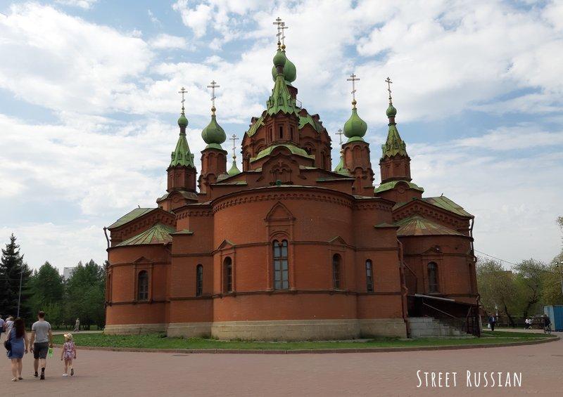 Chelyabinsk architecture: 3 churches