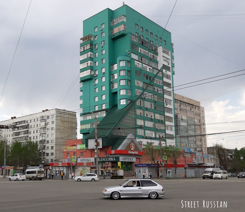 Chelyabinsk architecture: the concrete edition
