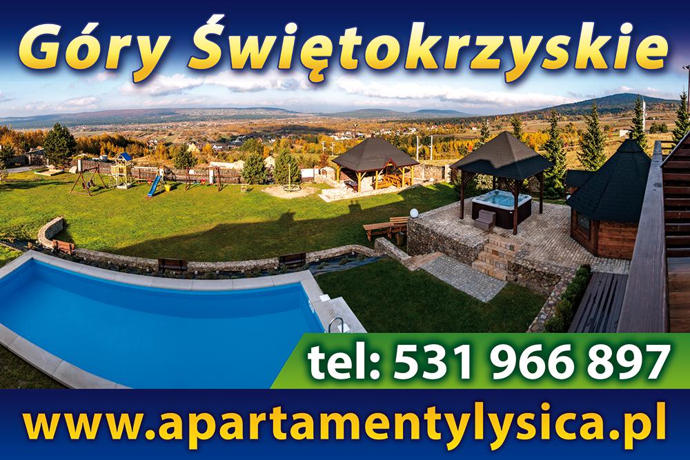 Strefasaun.pl - Poduszka Apartamenty Pod Łysicą - Górno
