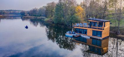 Strefasaun.pl - Domki nad jeziorem - Dłużec