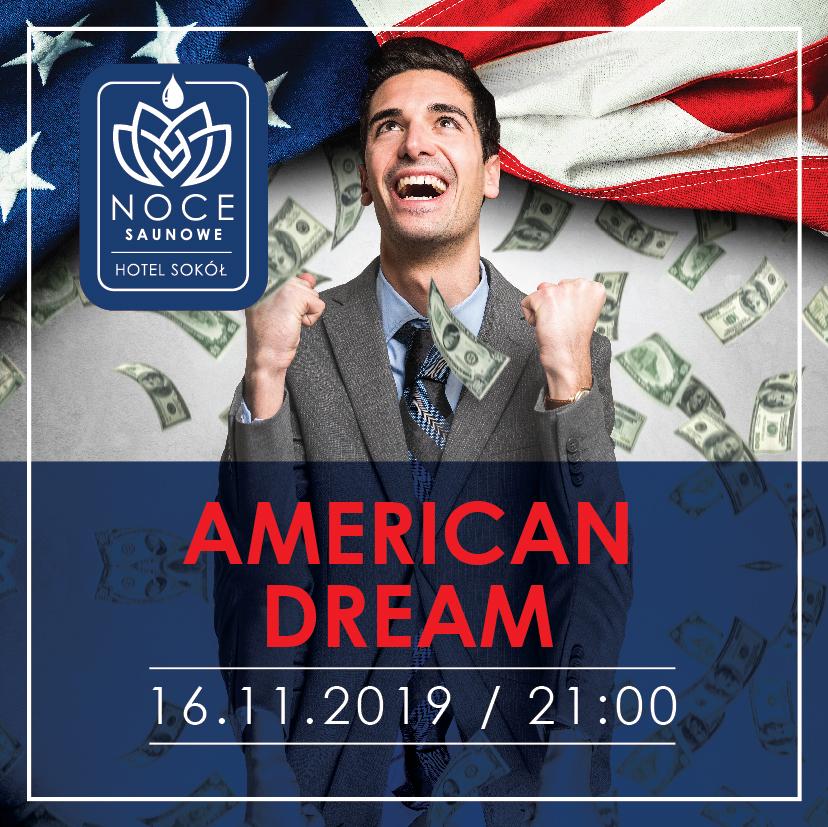 Strefasaun.pl - Wydarzenie American Dream Noc Saunowa - Łańcut