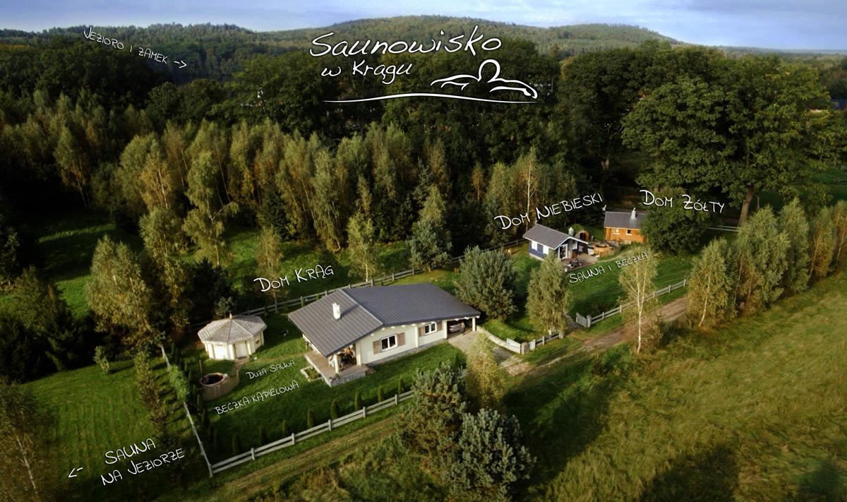 Strefasaun.pl - Saunowisko w Krągu - Krąg