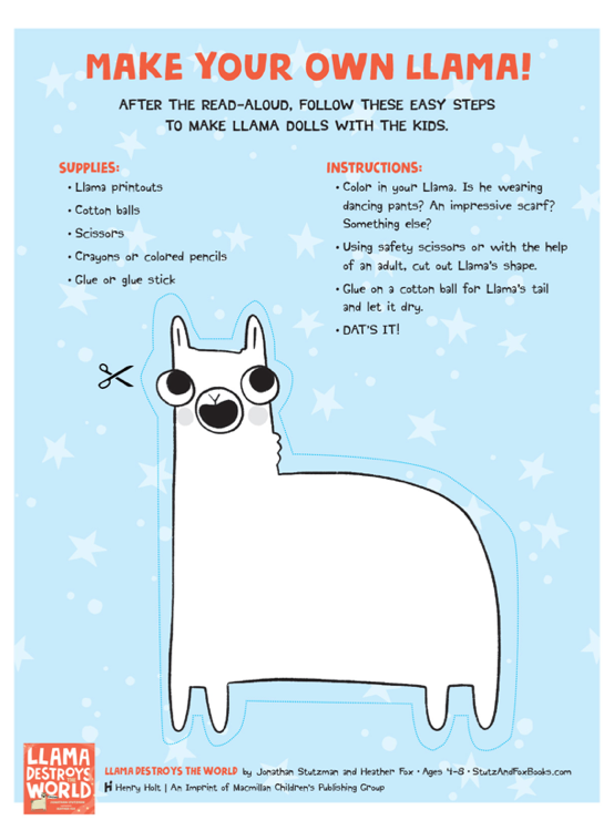 Make Your Own Llama