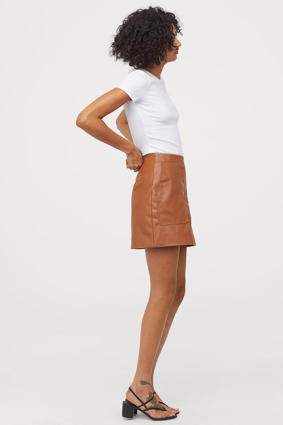 OOTD - How to Style your H&M-A-line Skirt
