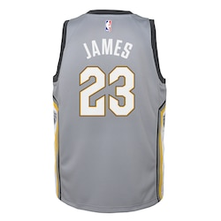 Cleveland Cavaliers Nike City Swingman Jersey  LeBron James  Youth- Jersey