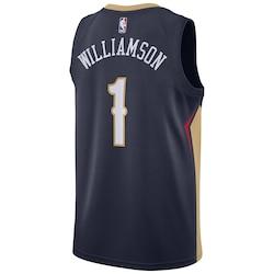 New Orleans Pelicans Nike Icon Swingman Jersey  Zion Williamson  Mens- Jersey