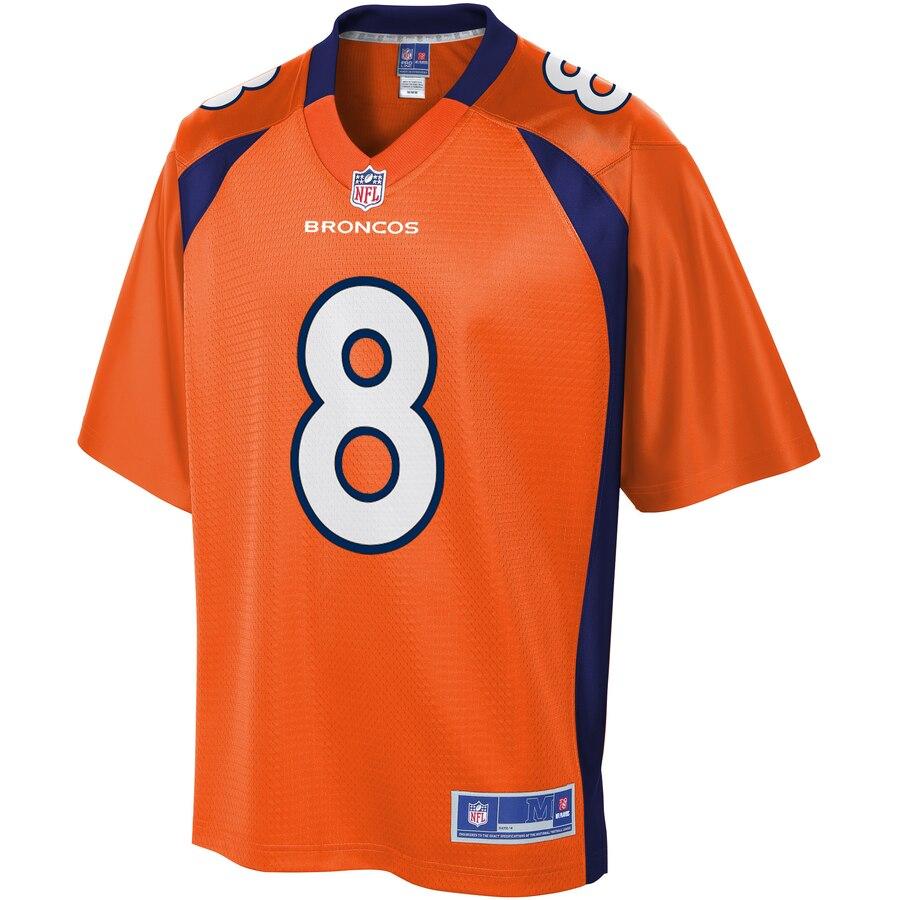 NFL Pro Line Mens Denver Broncos Brandon McManus Team Color Jersey- Jersey
