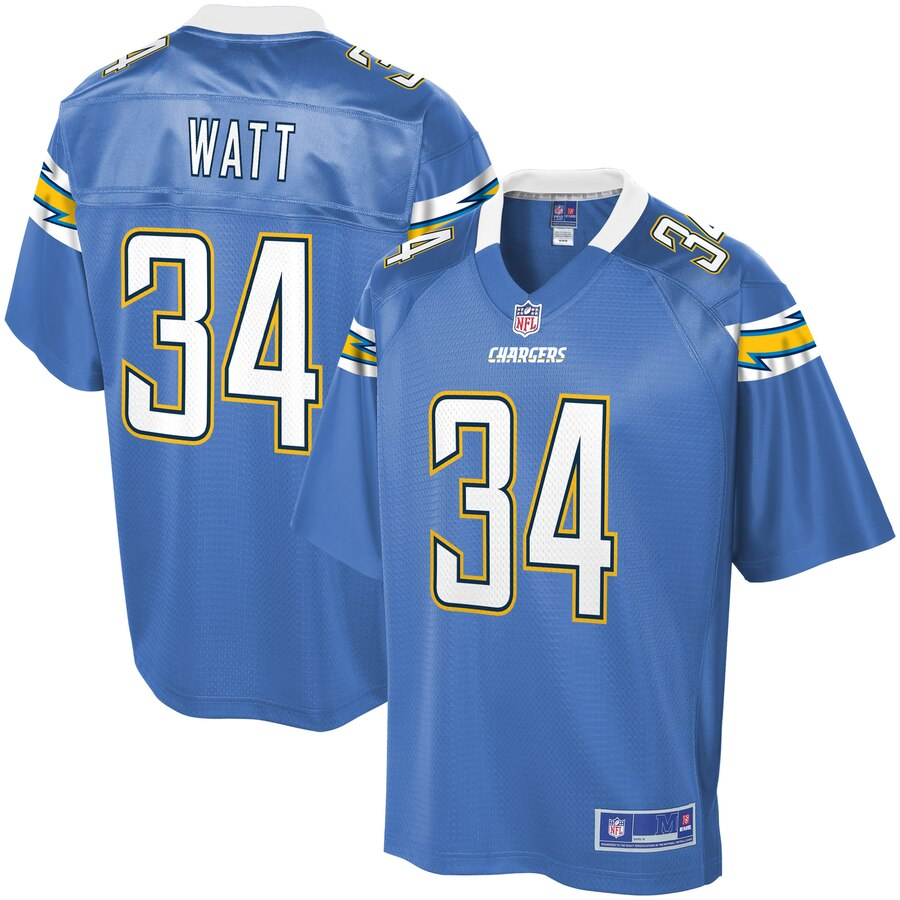 Mens Los Angeles Chargers Derek Watt NFL Pro Line Powder Blue Alternate Player Jersey- Jersey