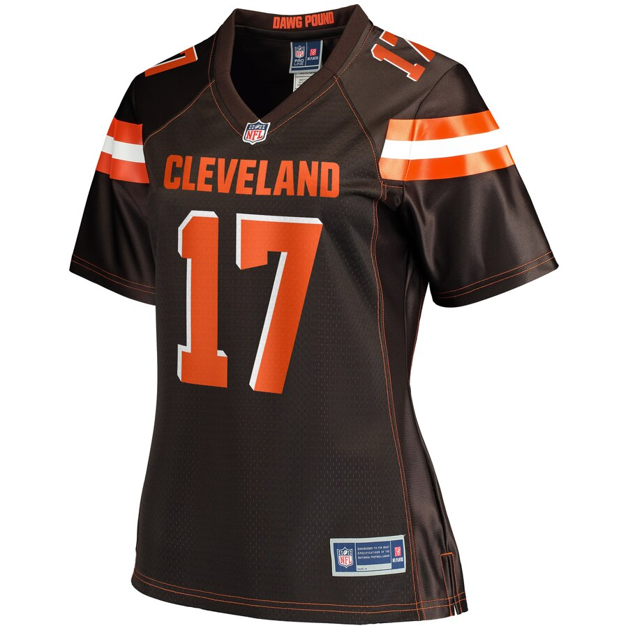 Womens Cleveland Browns Shelton Gibson NFL Pro Line Brown Player Jersey- Jersey