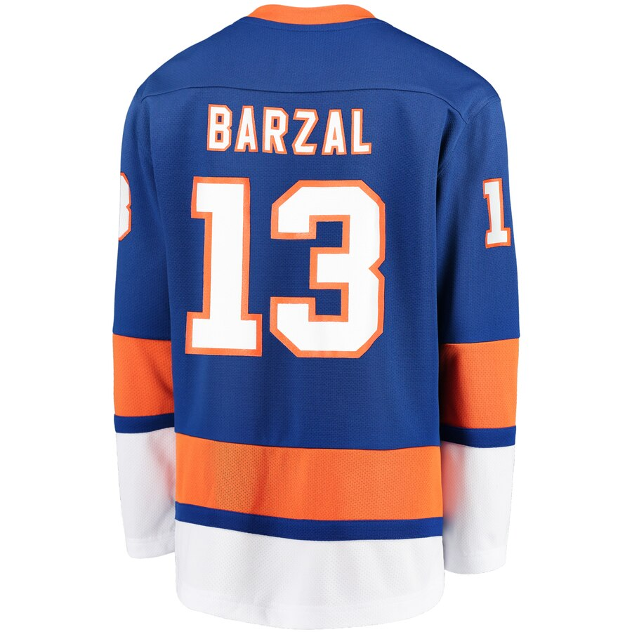 Youth New York Islanders Fanatics Branded Blue Home Replica Blank Jersey- Jersey