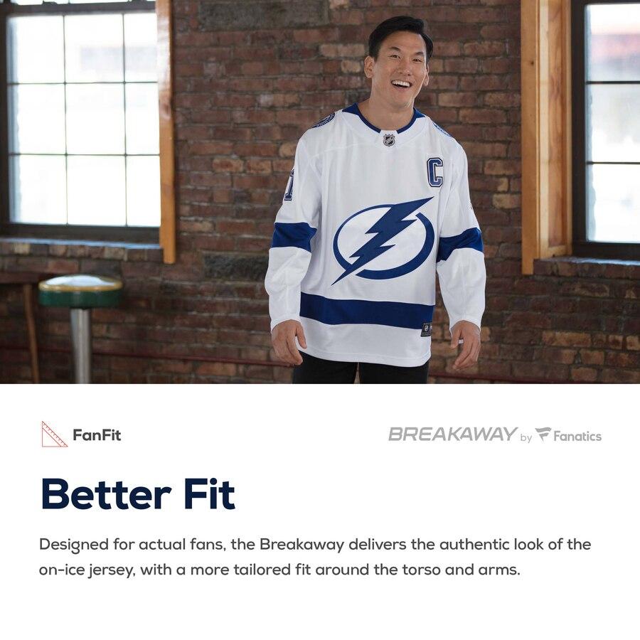 Youth Tampa Bay Lightning Victor Hedman Fanatics Branded Breakaway Player Jersey- Jersey