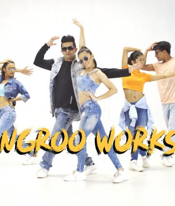 GHUNGROO CHOREOGRAPHY WORKSHOP