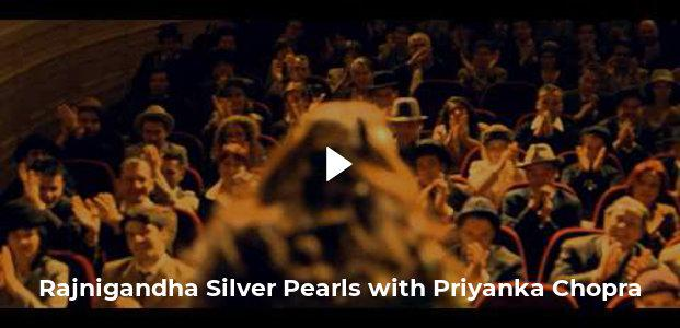 Rajnigandha Silver Pearls with Priyanka Chopra