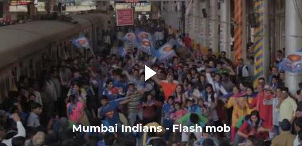 Mumbai Indians - Flash mob