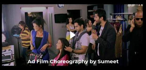 Ad Film Choreography by Sumeet