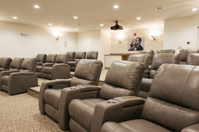 Summit Senior Living Movie Theatre