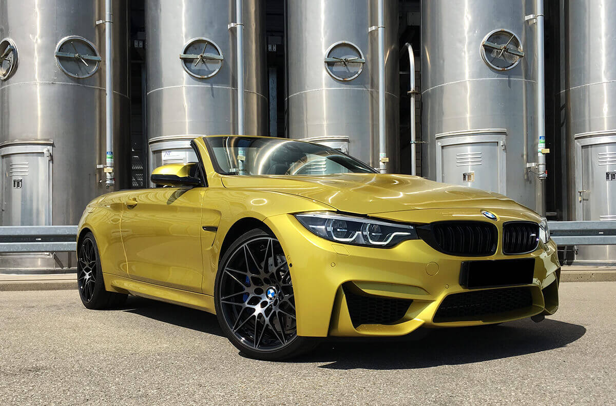 BMW M4 Competition Cabrio Facelift Front