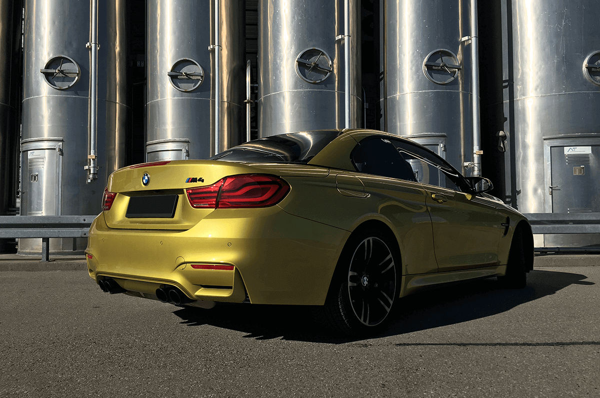 BMW M4 Competition Cabrio Facelift Heck